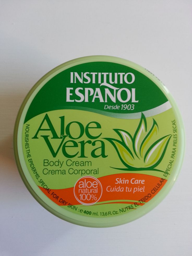 Hand and Body Cream with Aloe Vera. Instituto Espanol 400 ml Made in Spain. - Gemstone Trading