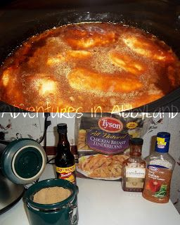 Crock-Pot Zesty BBQ Chicken