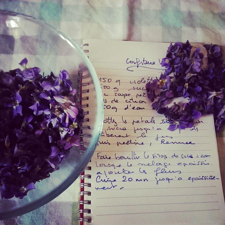 Confiture de Violettes