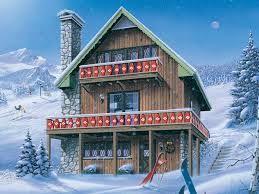 chalet house plans google search - Bavarian Chalet House Plans