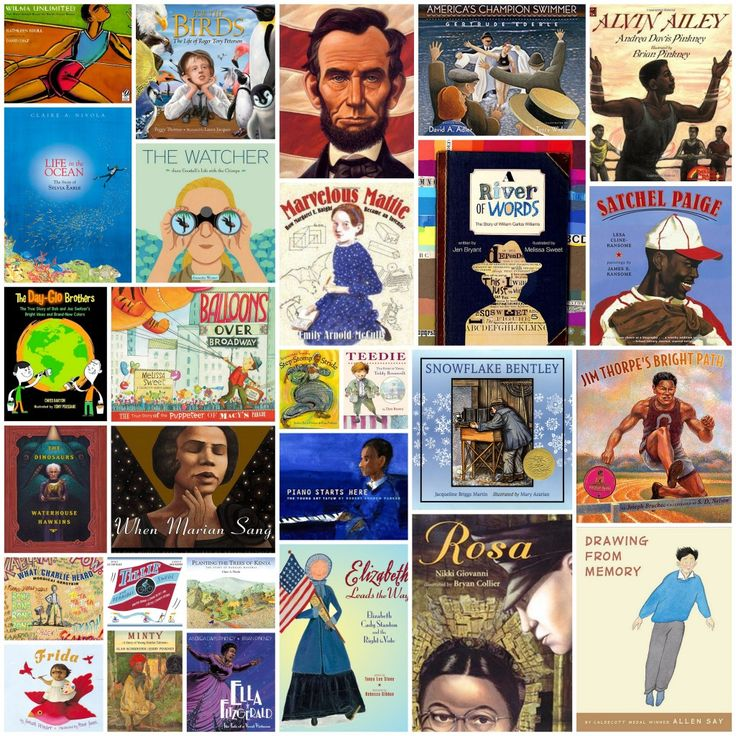 30 PICTURE BOOK BIOGRAPHIES -- 30 fantastic picture book biographies to share with 2nd through 5th grade students. Informative, entertaining and inspiring.   Delightful Children's Books