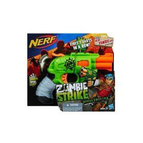 NERF Zombie Strike Doublestrike Blaster $15 @ K-Mart