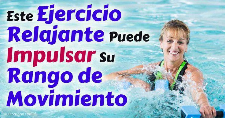 Hacer ejercicio en el agua ayuda a desarrollar estamina cardiovascular, quemar grasa corporal y puede ayudarle a rehabilitar los músculos y las articulaciones. http://ejercicios.mercola.com/sitios/ejercicios/archivo/2016/02/26/los-beneficios-del-ejercicio-en-agua.aspx