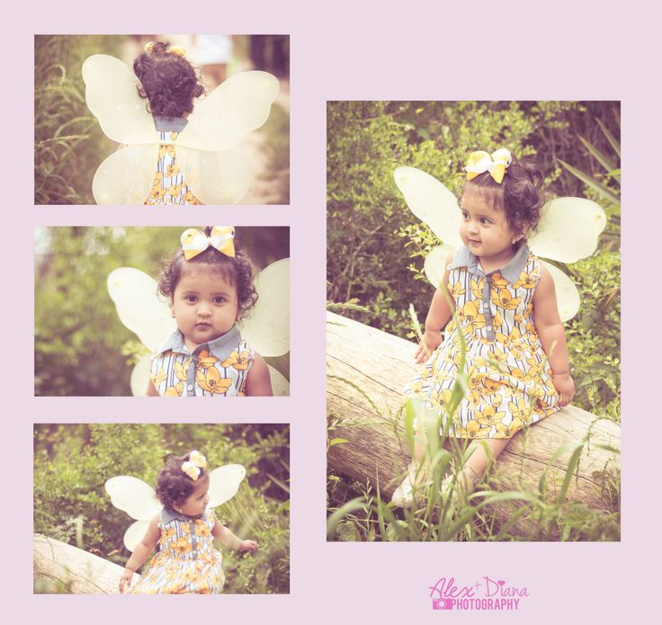 Spring is almost over. Spring butterfly baby girl. #Dollar #Tree props. At Meyer Park #Photography