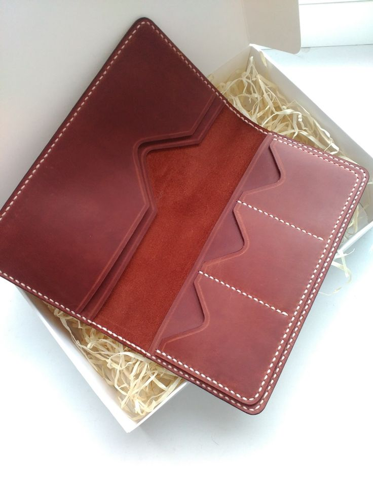 CreArtDStudio: Leather Goods Handmade leather wallet