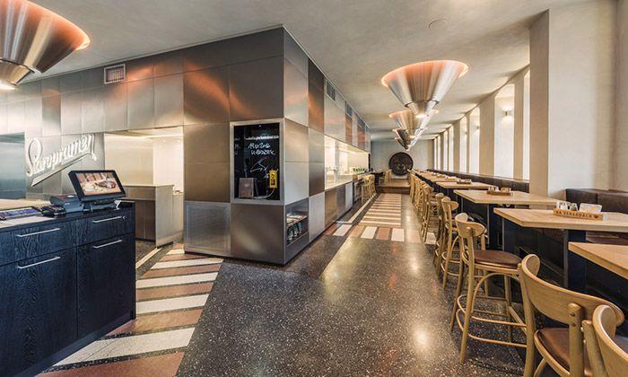 Restaurace Na Verandách má nový interiér od Edit