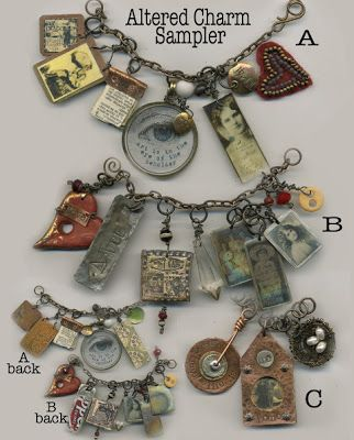 Shirley Hall Designs: Search results for altered charm sampler