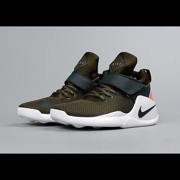 Nike Kwazi olive green basketball shoes 844839 300 Nike