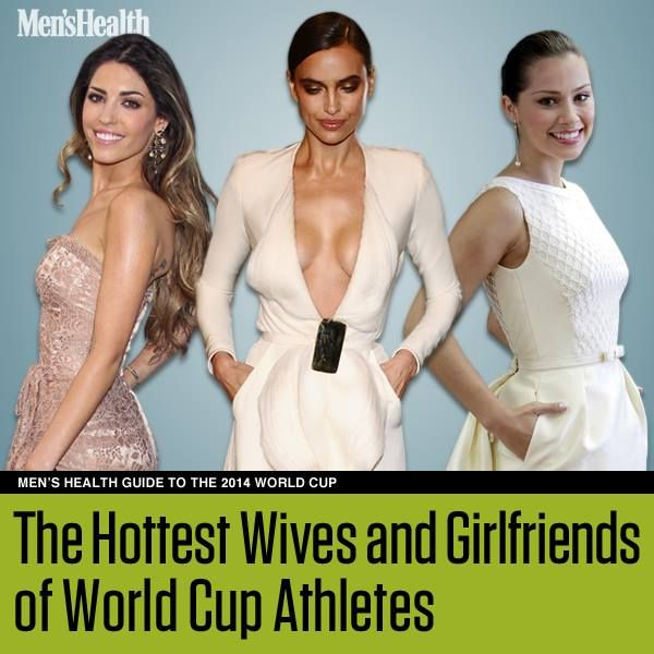There are a lot of reasons why we love the #WorldCup http://www.menshealth.com/sex-women/hottest-soccer-wags?cid=soc_pinterest_content-sex_july14_hottestwags