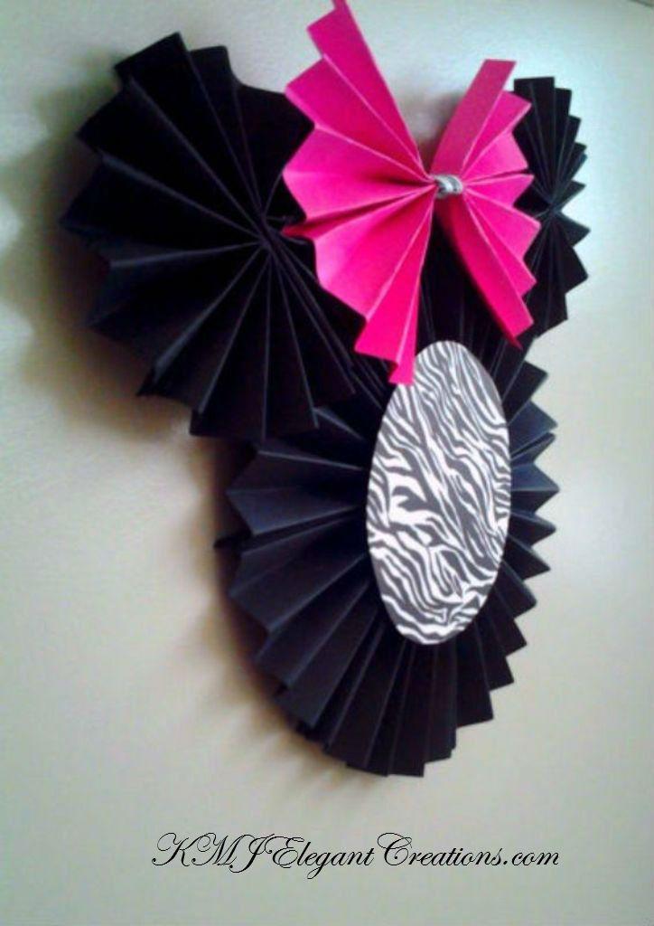 Minnie Mouse Paper Pinwheel