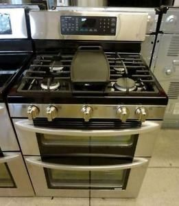 STAINLESS STEEL GAS STOVE RANGES 1 YEAR WARRANTY