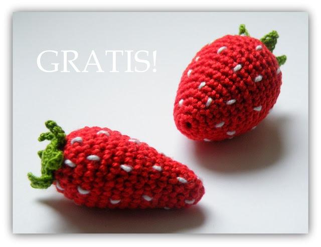 free pattern strawberries