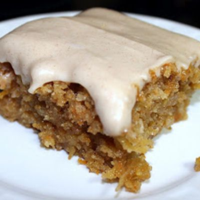 Gooey Cinnamon Carrot Poke Cake Recipe_i think im going to make this for thanksgiving!!