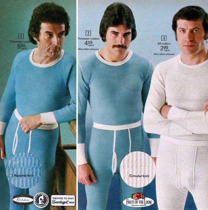 Editoriais de moda masculina nos anos 70 mostram peças inusitadas que jamais seriam tendência nos dias atuais; veja fotos | Estilo