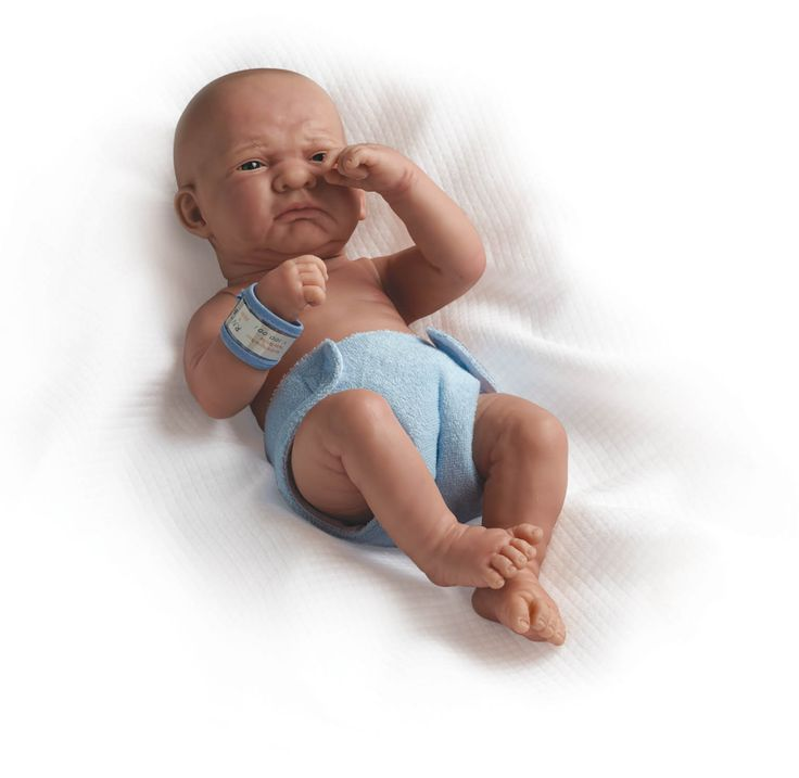 Realistické miminko - nešťastný chlapeček od firmy Berenguer
