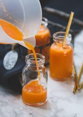 Appel- wortelsap met gember - Wortel in combinatie met appel en gember maakt van dit heerlijke sapje een natuurlijke en gezonde red bull!