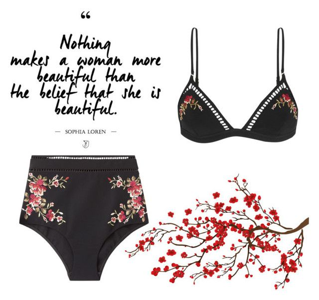 """Bikini,bikini,bikini"" by ipeeks on Polyvore featuring Zimmermann"