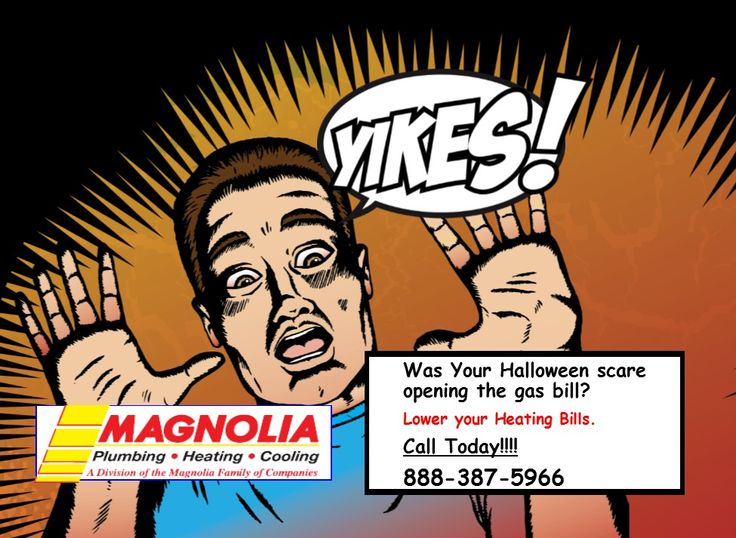 Yikes Was Your Halloween Scare Your Heating Bill Hvac