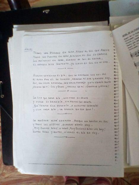 Versos de la mañana para el jardin Waldorf y primeros cursos