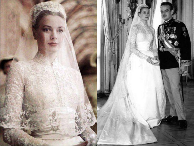 O estilo clássico é atemporal, por isso as imagens da princesa Grace Kelly vestida de noiva são ainda tão inspiradoras.Leia Mais