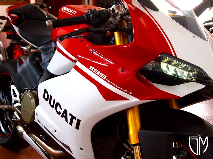 DUCATI Panigale 1199 S - replica Anniversary By GiaMi Motorcycles