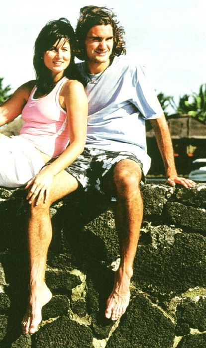 Federer und Mirka
