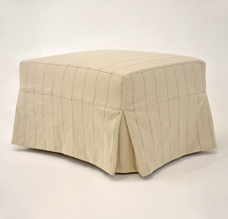Custom Furniture Slipcovers: 127 Best Benches And Ottomans Images On Pinterest