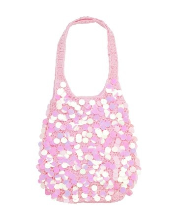 Your little girl will love feeling grown up with this sparkling sequined purse!