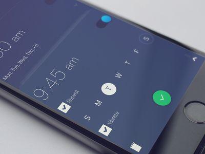 Setting Clock - Alarm Clock App