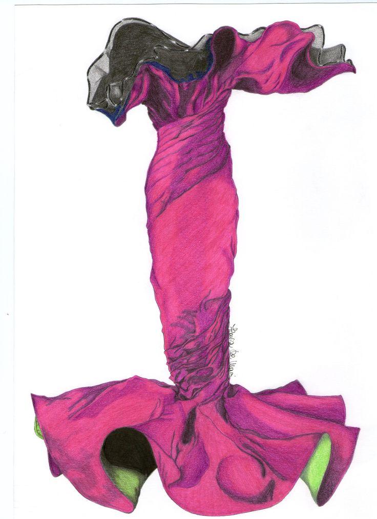 Gianni Versace Sculpture Dress
