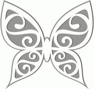 17 Best Ideas About Butterfly Template On Pinterest