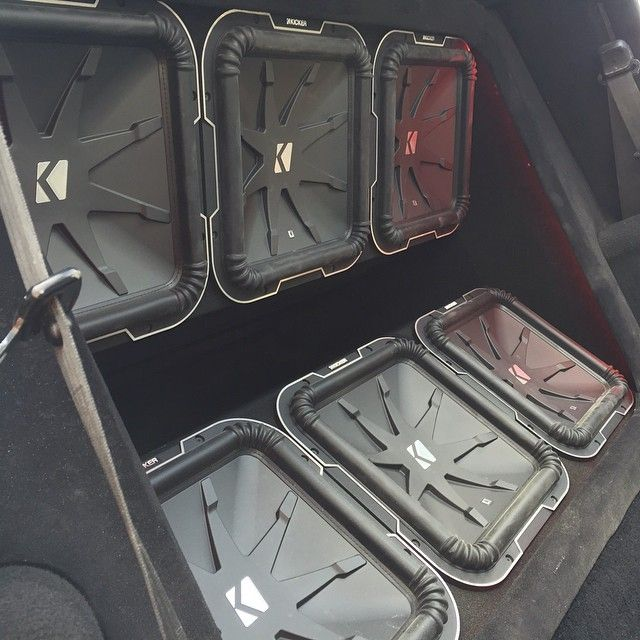 "1,261 Likes, 34 Comments - KICKER (@kickeraudio) on Instagram: ""Check out this awesome L7 install from Rollin' Thunder Car Audio in Richmond, Virginia! #qclass…"""