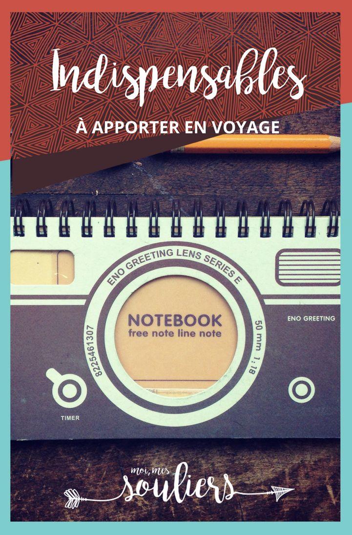 10 indispensables en voyage
