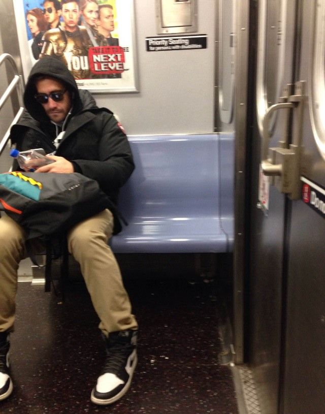 It's just like Andy Warhol said: in the future, everyone will sit next to Jake Gyllenhaal on the subway for 15 minutes (or at least until their stop).