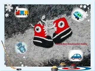 ΠΛΕΚΤΑ ΒΑΣΙΛΕΙΑ - CROCHET VASILIA : Αγαπημένα sneakers!!!! Είναι λατρεία!!