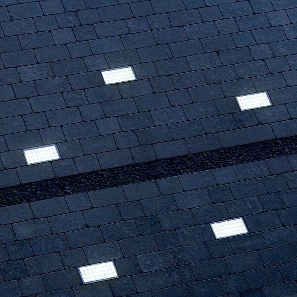 Ein Highlight für Ihren Außenbereich sind diese LED Bodeneinbauleuchten.