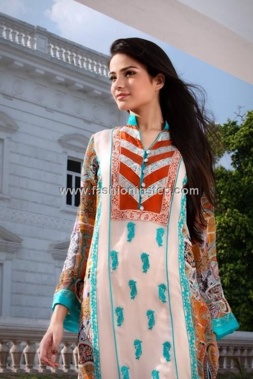 Threads and Motifs Latest Embroidered Dresses 2012 for Women