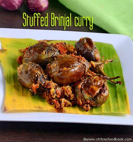 136 best tamil food images on pinterest indian food recipes ennai kathirikai poriyalstuffed brinjal curry forumfinder Images