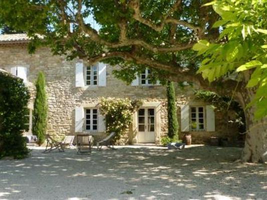 Vakantiewoning Zuid Frankrijk | Drome | Halfvrijstaande vakantiewoning aan oude mas in Richerenches met zwembad.