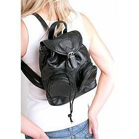 Bőr hátizsák (90's)