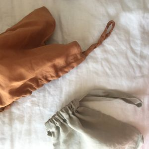 Linen Drawstrings (The Bernii Baby Bag comes with a set of three)
