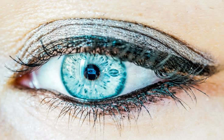 The Eye in the Eye - Creative moments should always be captured.