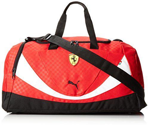 PUMA Men's Ferrari Replica Medium Teambag, Red, One Size * undefined #GymBags