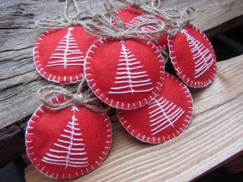 Vánoční ozdoby - 4 ks