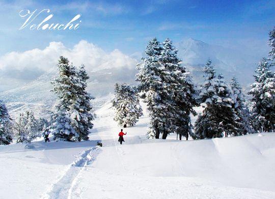 Velouchi, Evritania Prefecture, Greece