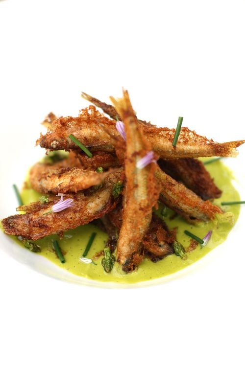 fried spearings asparagus 5/10