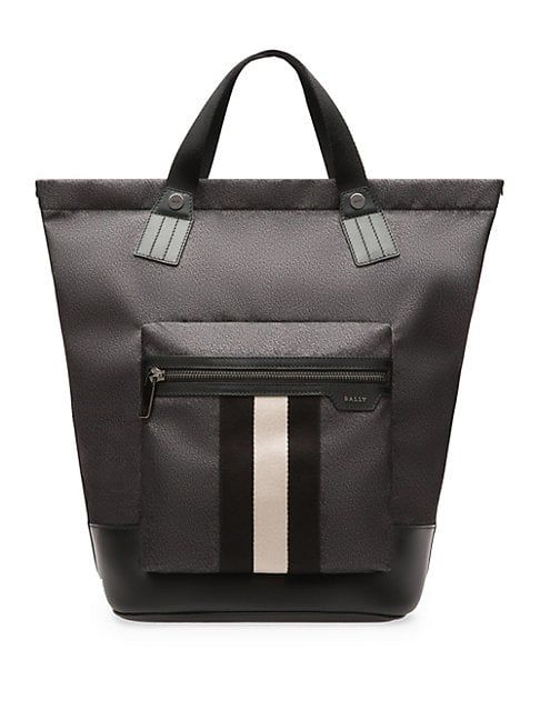 dec7b7878d BALLY CROWLEY STRIPE NYLON TOTE.  bally  bags  shoulder bags  hand bags   nylon  tote