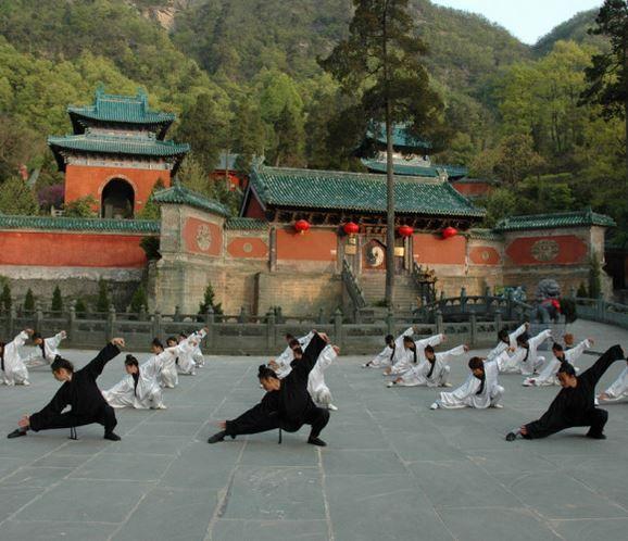 tai chi chuan Wudang temple
