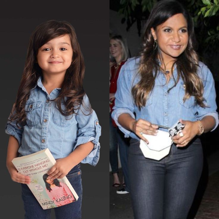 Twinning with our FAVE Mindy Kaling #scoutstolemystyle