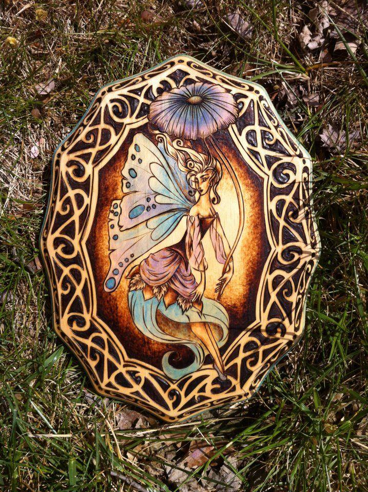 Victorian Garden Fairy by parizadhedeviantartcom Greenwood Creations on deviantART